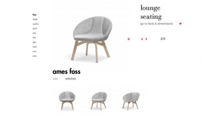 Ames armchair