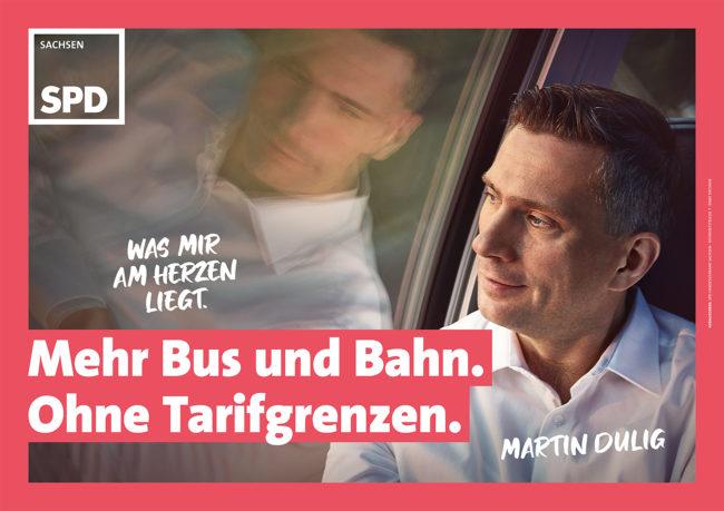 Plakatkampagne SPD Sachsen © Götz Schleser