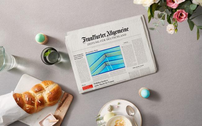 Kampagnenmotiv der Frankfurter Allgemeine Zeitung